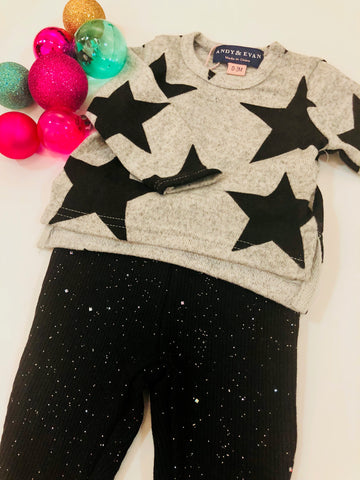 Star Tee and Pant Set