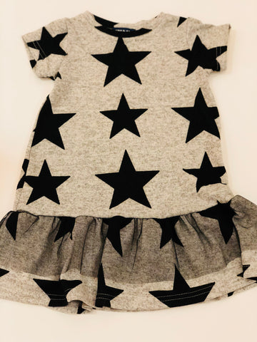 Grey Star Knit Dress