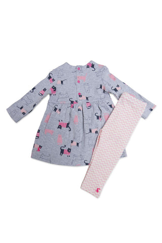 Baby Christina Dress and Leggings Set