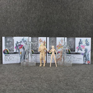 Artist Mannequins | Body-Kun (male) and Body-Chan (female) | Deluxe Package