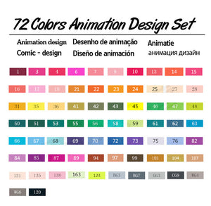 TouchFive Art Markers | Animation Set