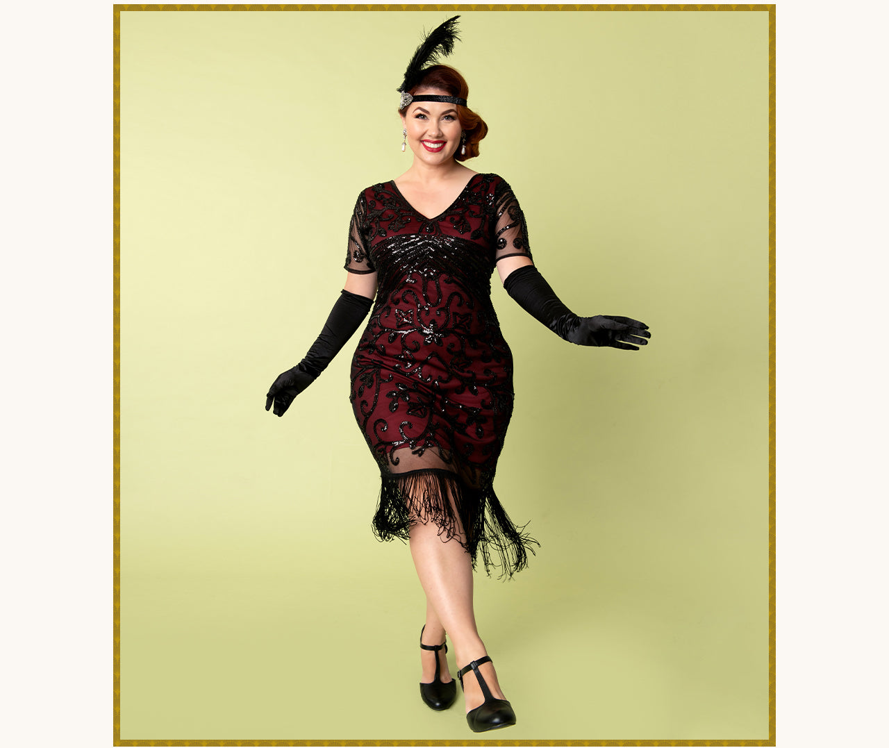 Shop Plus Size Flapper Dresses