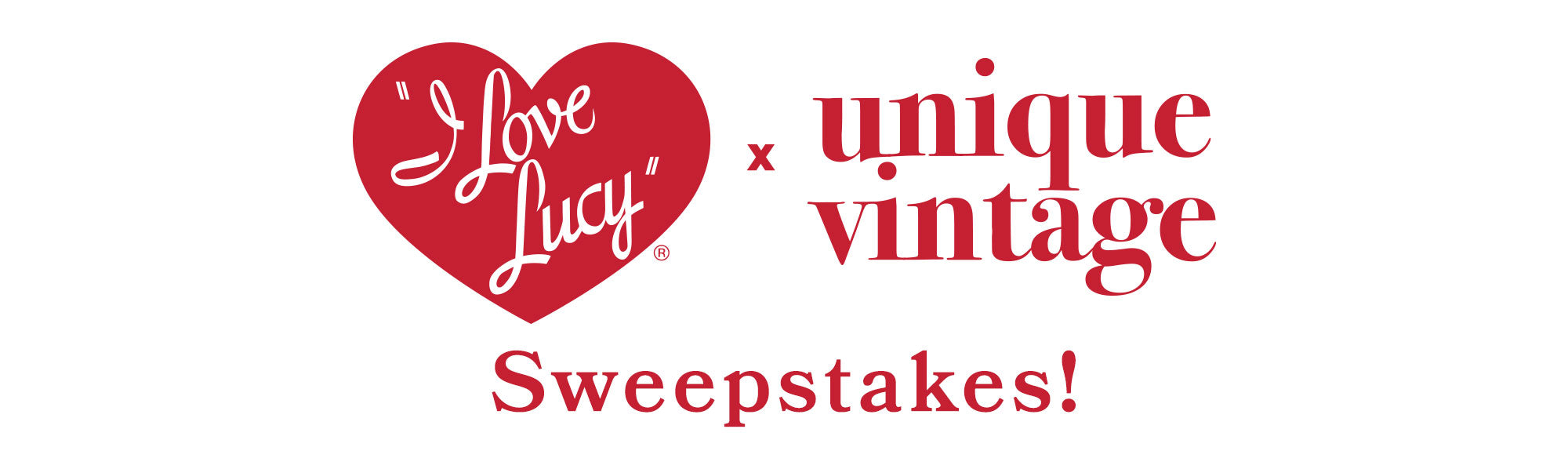 I Love Lucy x UV Sweepstakes