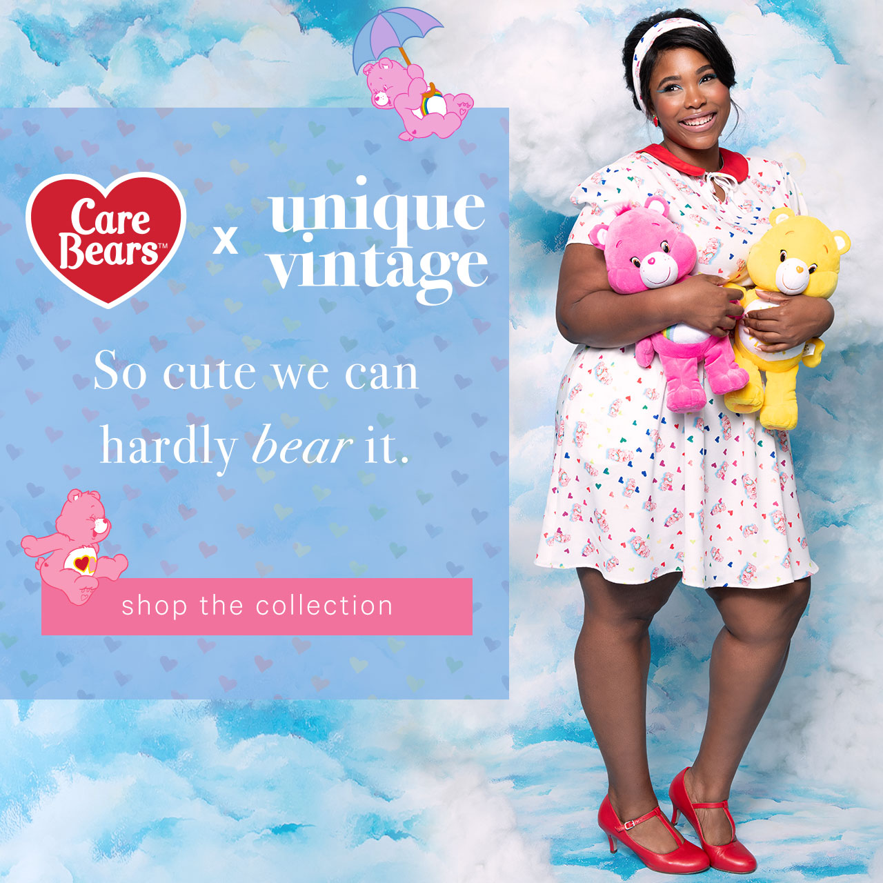 Unique Vintage — Care Bears x Unique Vintage Collection