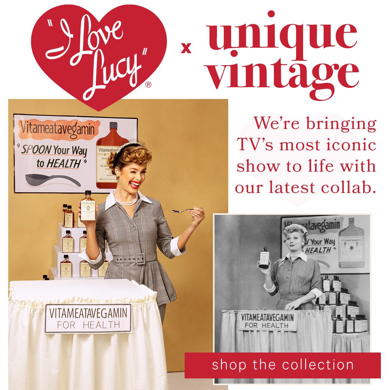 Unique Vintage — I Love Lucy x Unique Vintage
