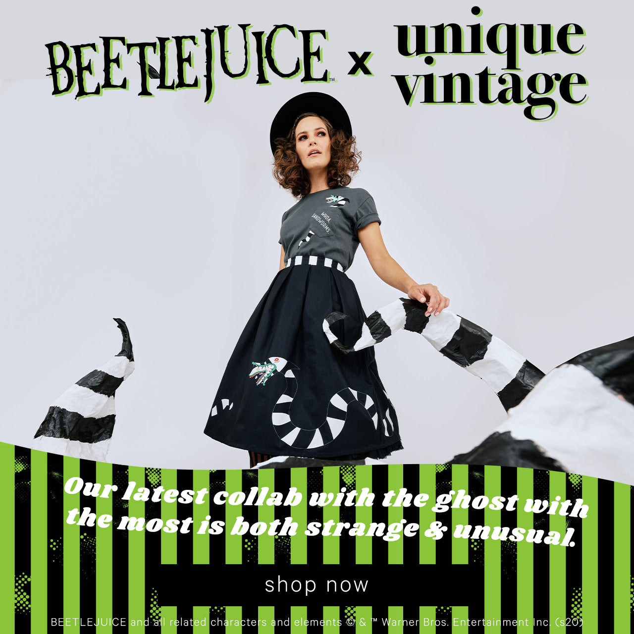 Unique Vintage — Shop Beetlejuice x Unique Vintage