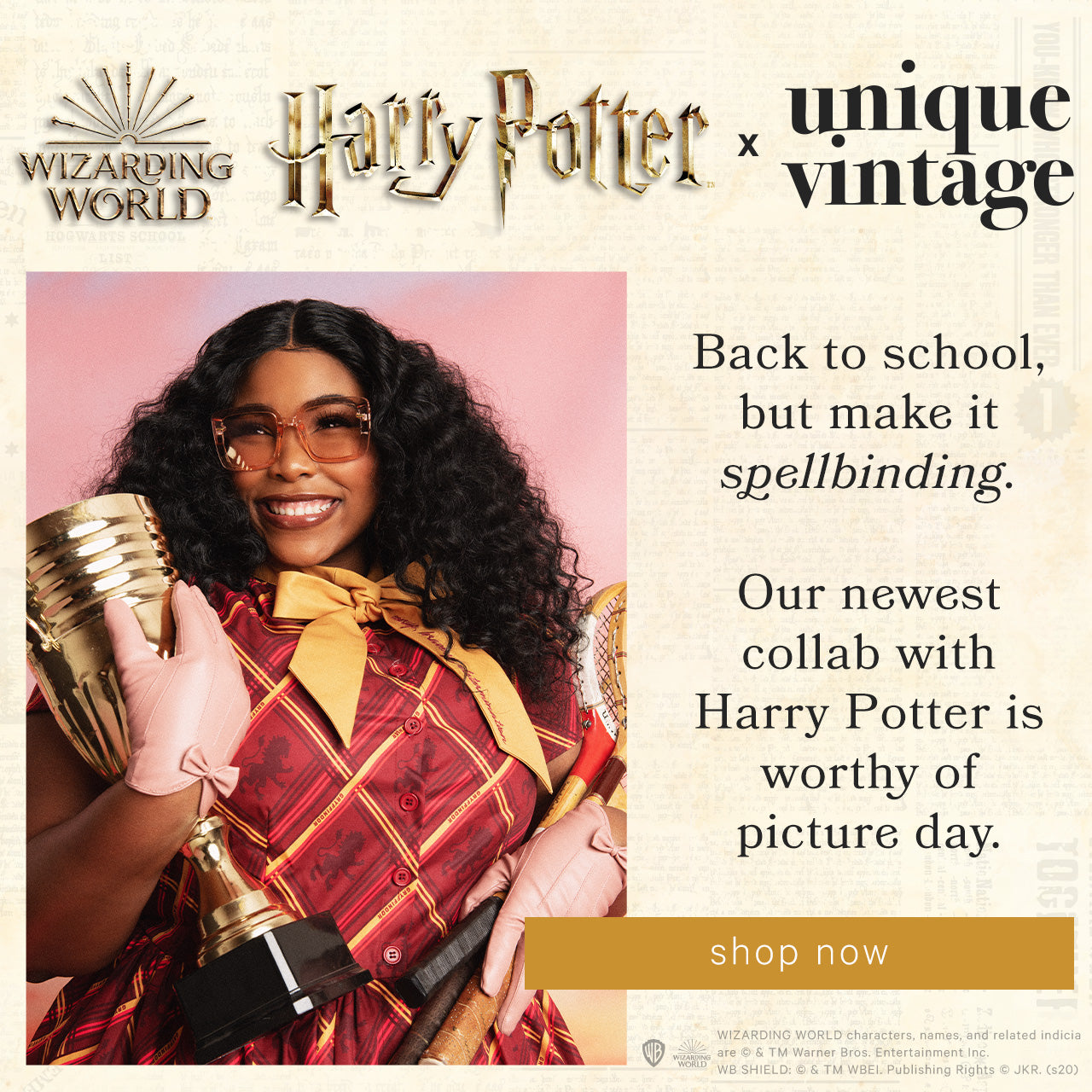 Unique Vintage — Shop Harry Potter x Unique Vintage