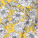 Smak Parlor Yellow Floral Cosmic Shift Dress