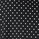 Unique Vintage Plus Size Retro Black & White Pin Dot Bianca Wrap Dress