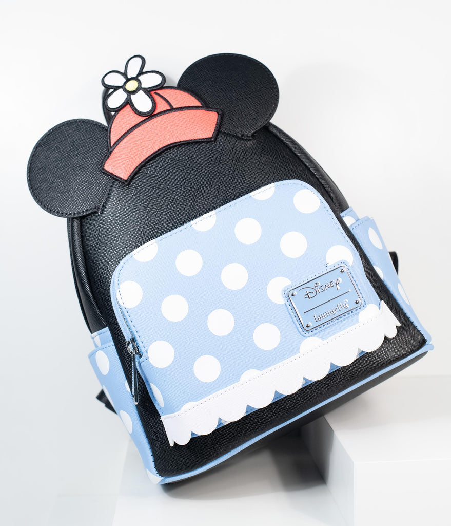 Loungefly Positively Minnie Polka Dot Mini Backpack