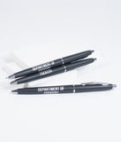 Black Department Of F*ckery Swear-y Black Pen Set