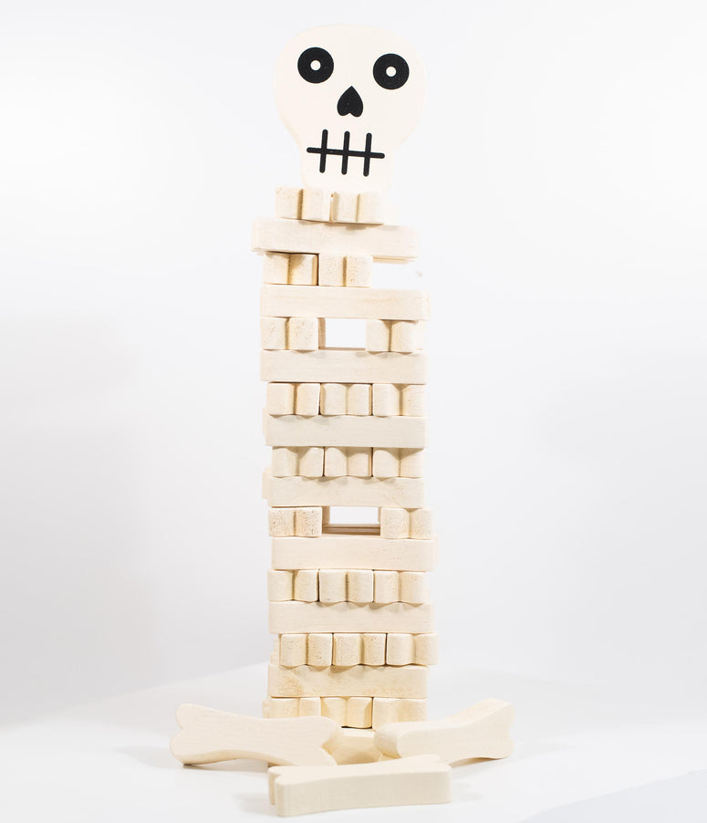 Stack The Bones Wood Block Game