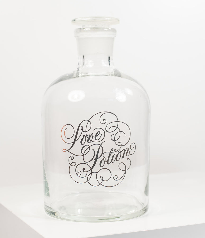Glass Love Potion Decanter
