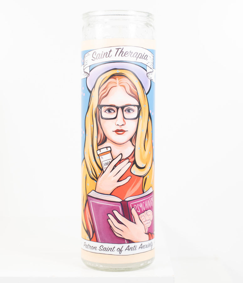 Saint Therapia Prayer Candle