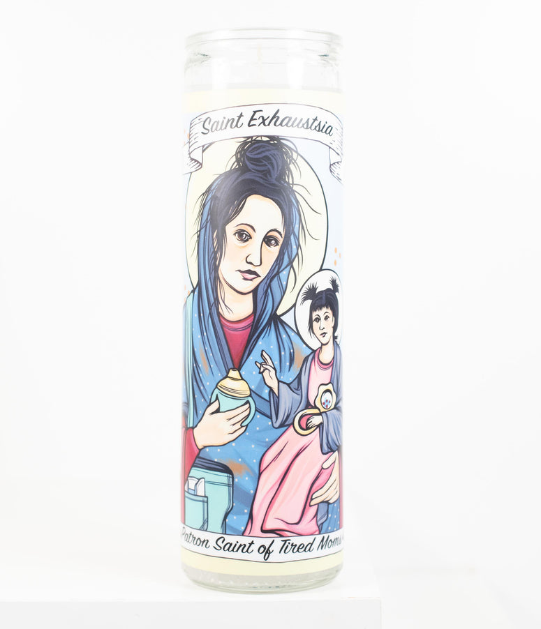 Saint Exhaustsia Prayer Candle