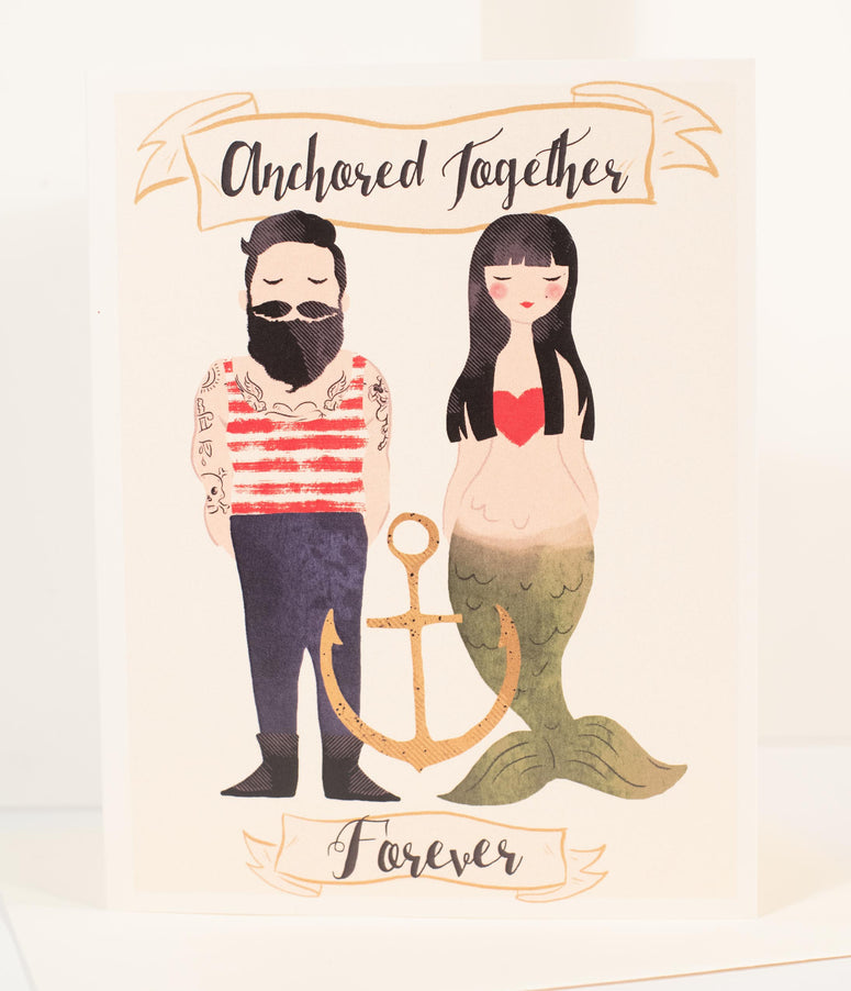 Anchored Together Forever Card