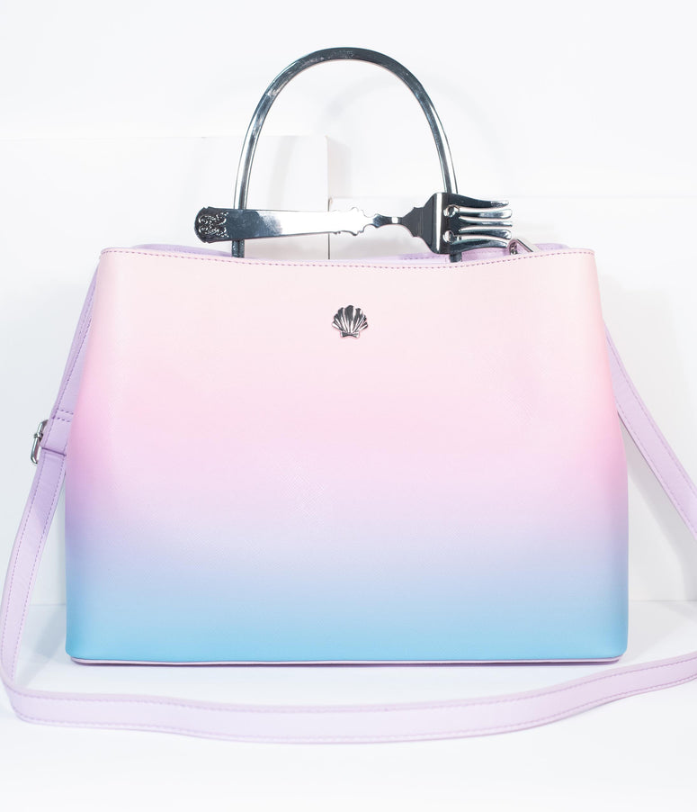 Loungefly Pastel Ombre Dinglehopper Little Mermaid Handbag
