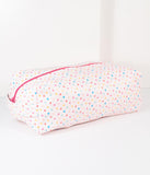 Light Pink & Tiny Hearts Leatherette Doppelganger Pouch
