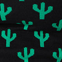 Collectif Plus Size Black & Green Cactus Chrissie Knit Sweater