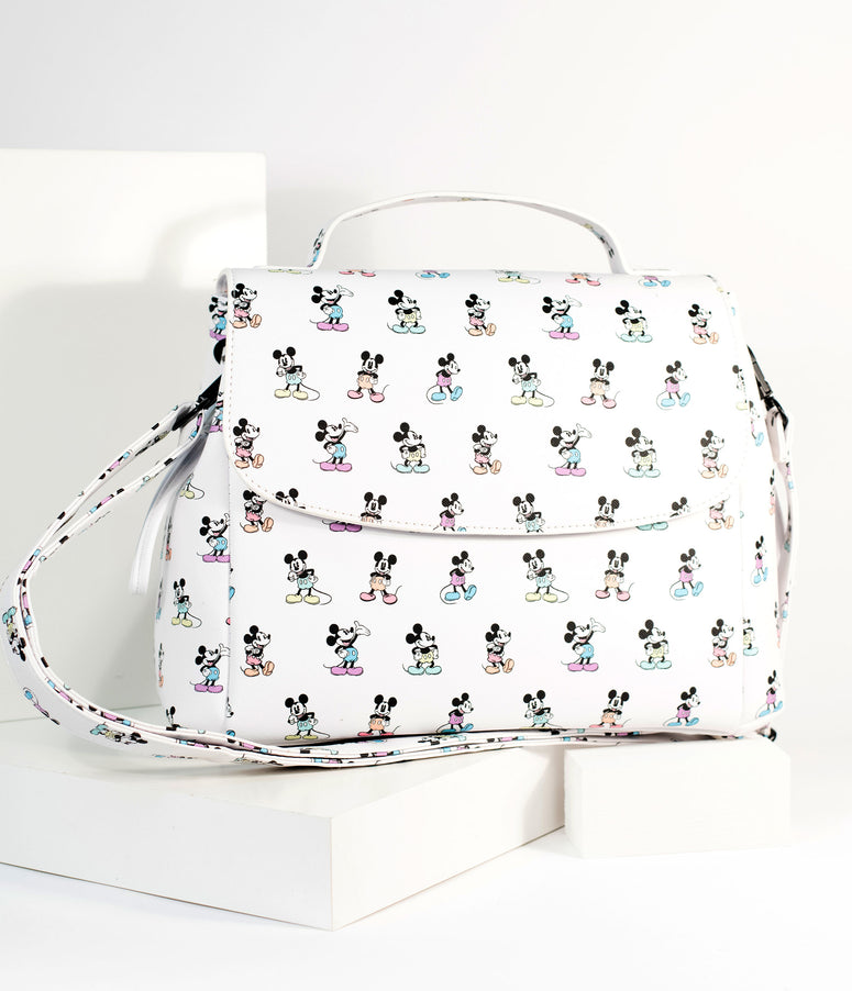 Loungefly Mickey Mouse Poses Disney Crossbody