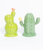 Green Cacti Salt & Pepper Shaker Set