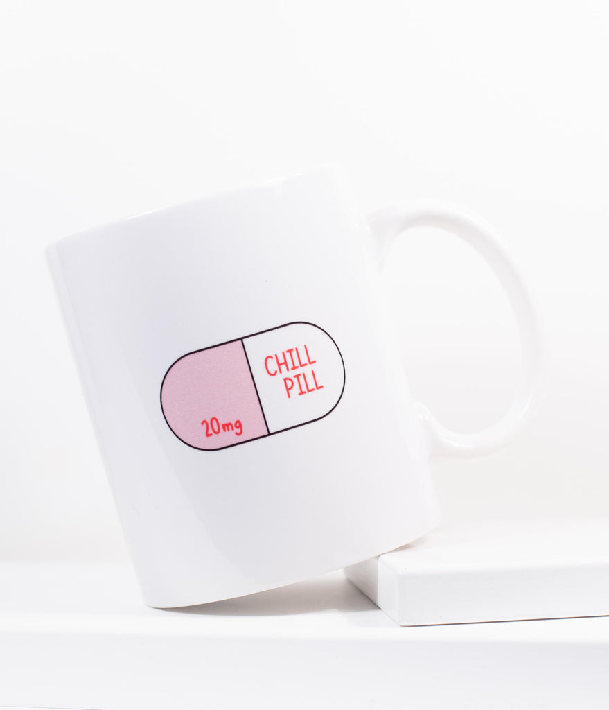Chill Pill Ceramic Coffee Mug