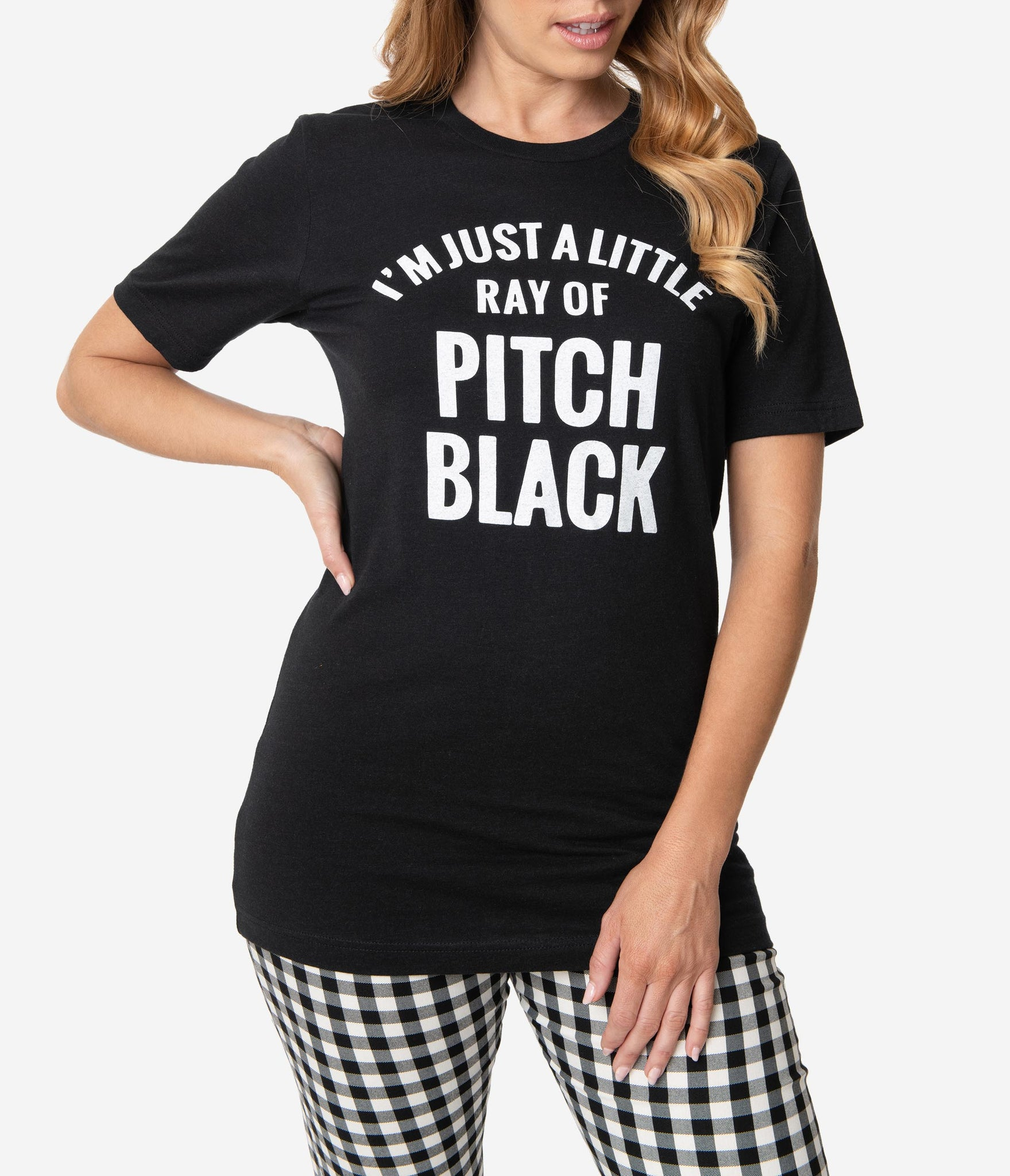 I'm Just A Little Ray Of Pitch Black Unisex Tee Shirt