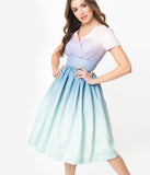 Pastel Ombre Alyssa Swing Dress