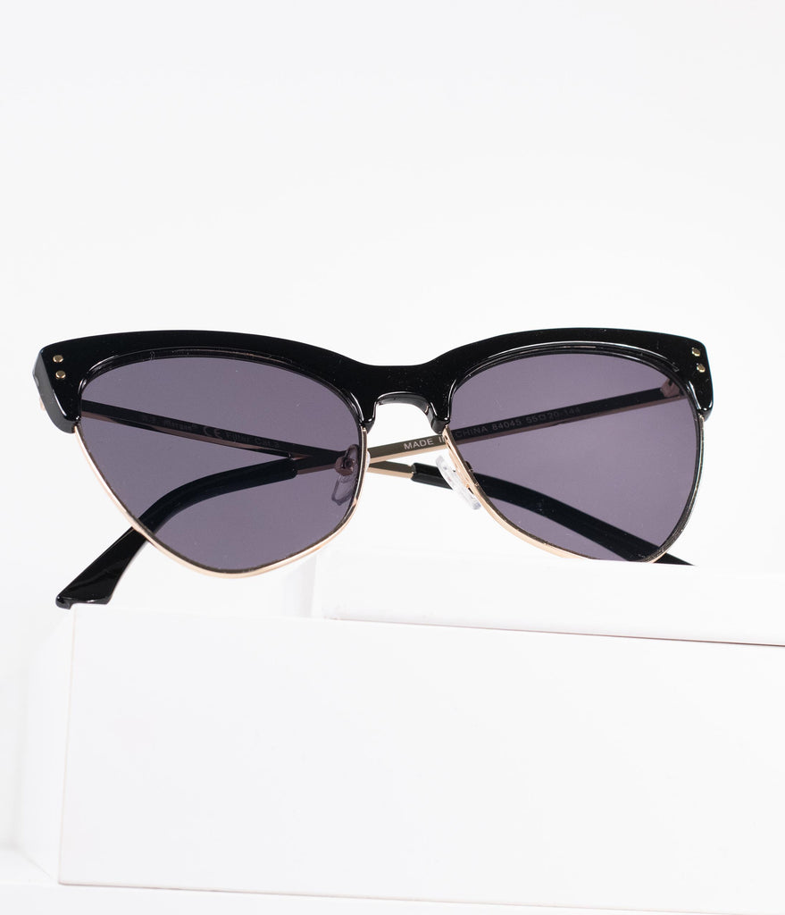 Black Top Frame Space Ranger Sunglasses
