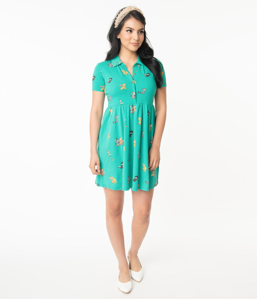Cakeworthy Lost Boys Fit & Flare Dress