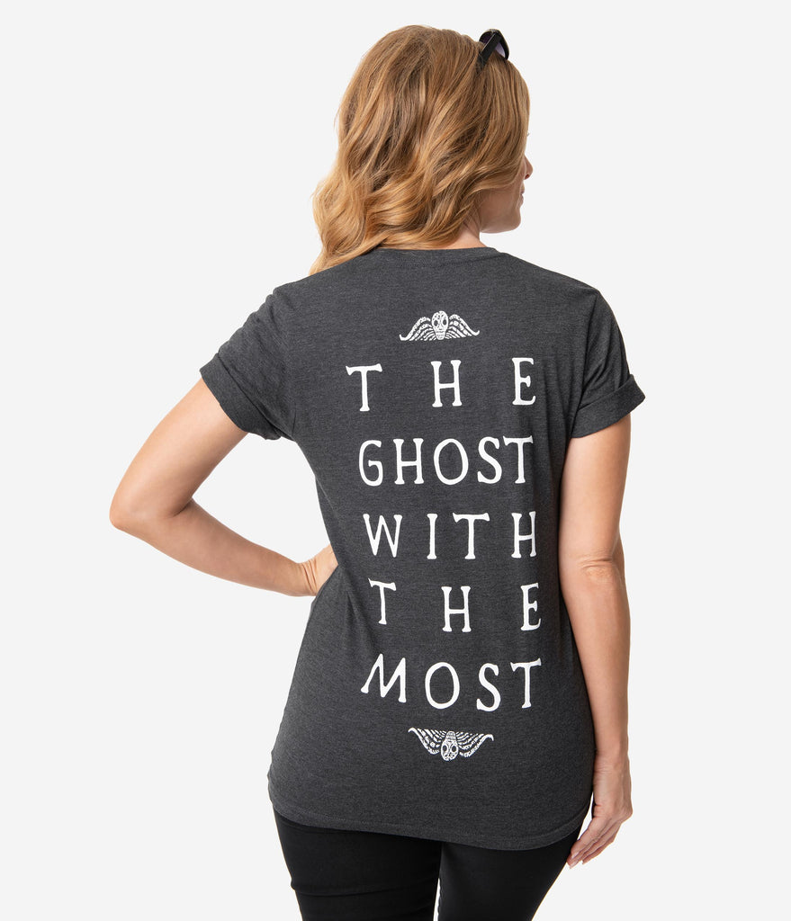 Beetlejuice x Unique Vintage The Ghost With The Most Unisex Tee
