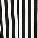 Beetlejuice x Unique Vintage Plus Size Black & White Stripe Jagger Suit Jacket