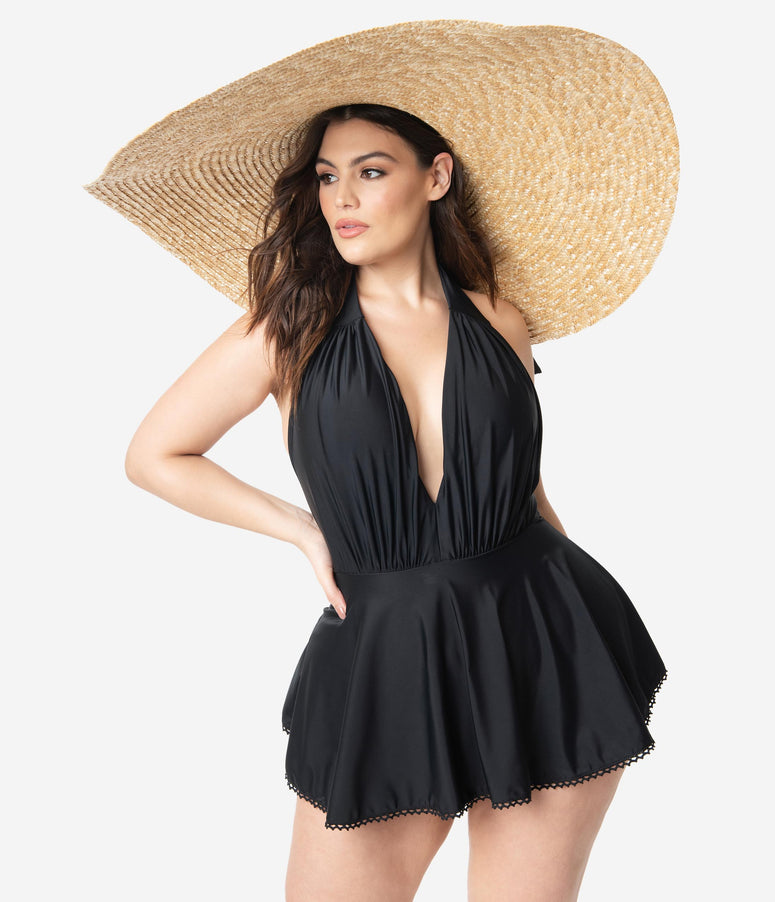 Retro Style Oversized Straw Sun Hat