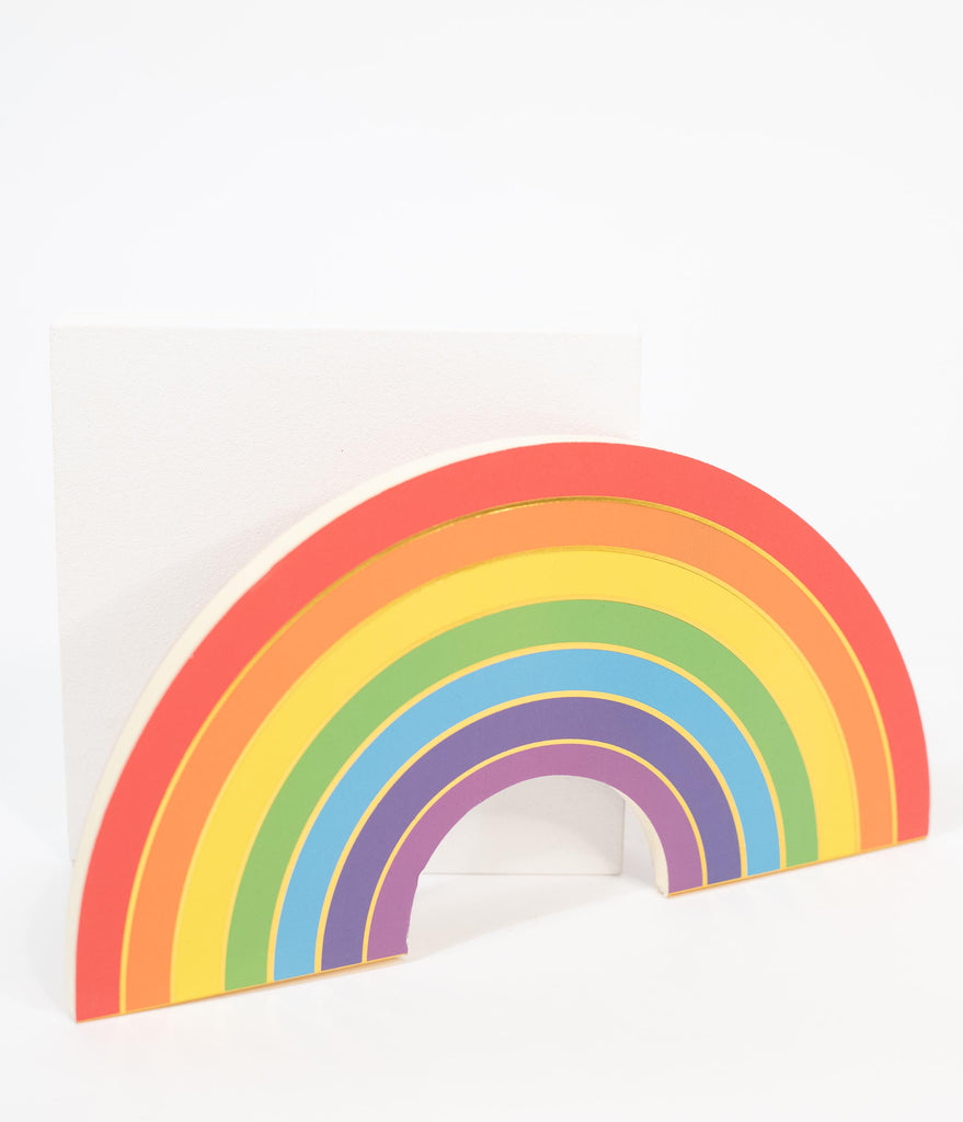 Rainbow Paper Notebook