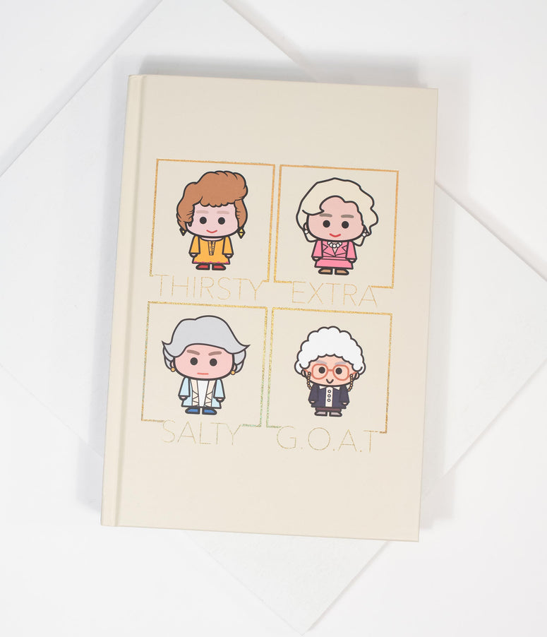 Golden Girls Hardcover Journal
