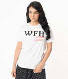 Unique Vintage WFH Fashion Unisex Tee