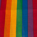 Rainbow Striped Hair Scarf