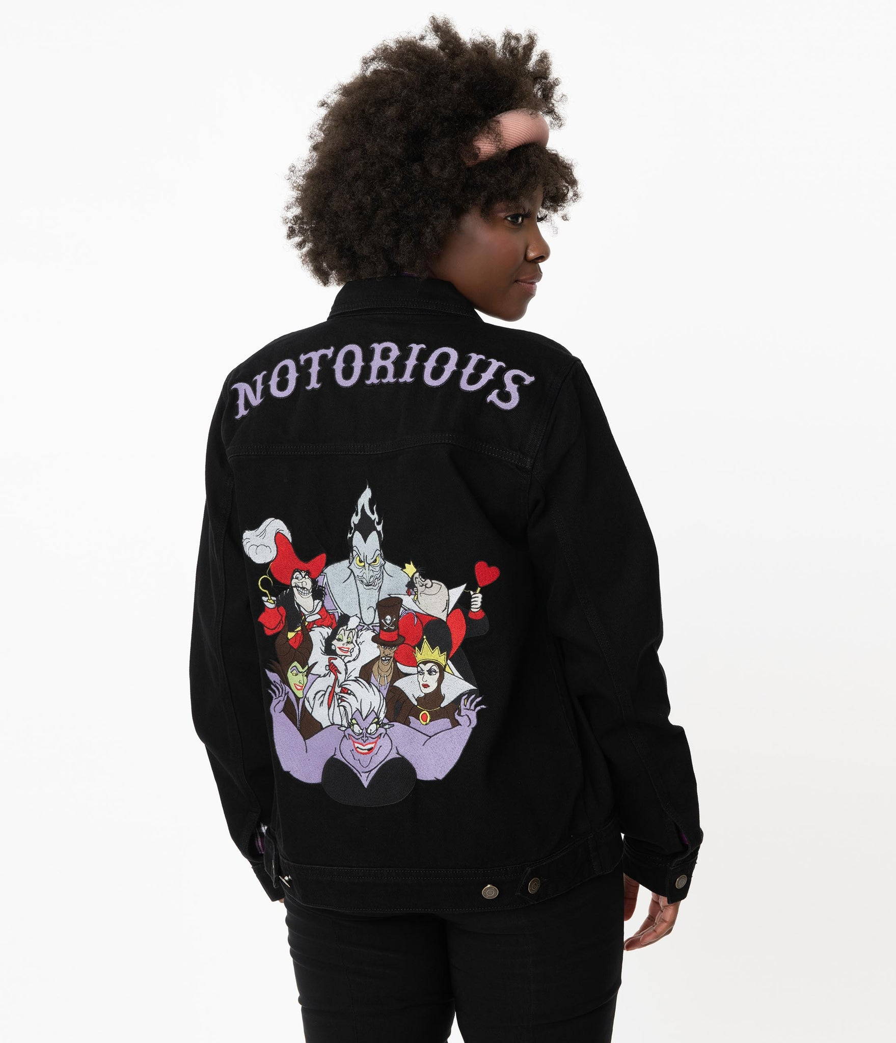 Cakeworthy Notorious Disney Villains Denim Jacket
