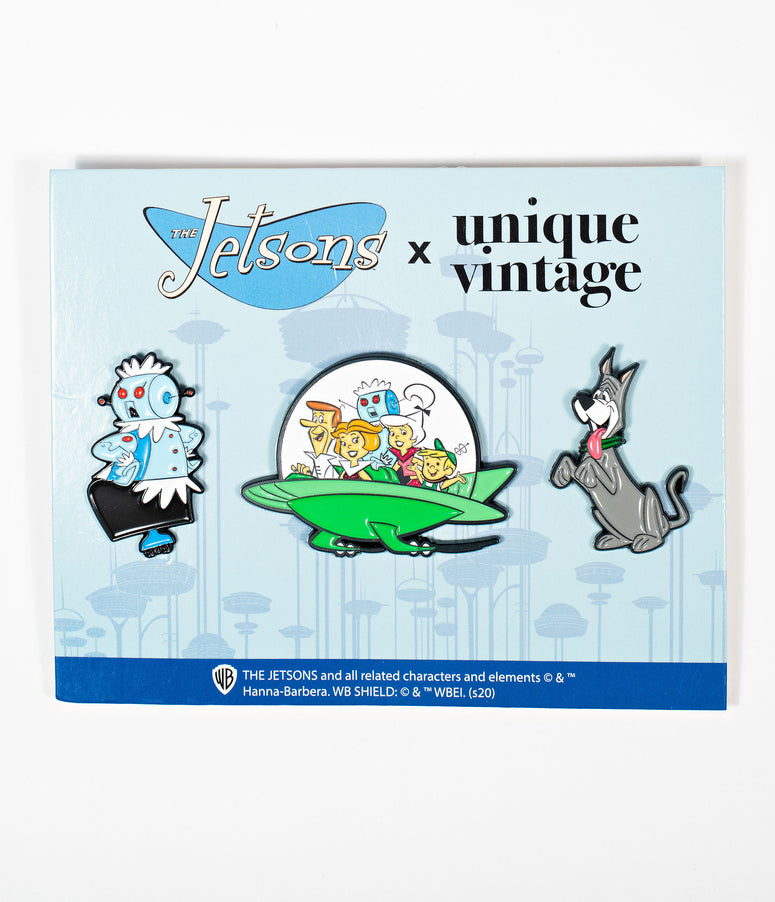 Jetsons x Unique Vintage Pin Set