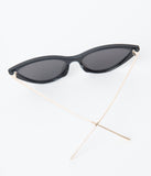 Classic Black Cat Eye Sunglasses