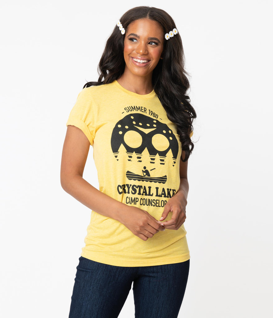 Crystal Lake Camp Counselor Unisex Tee