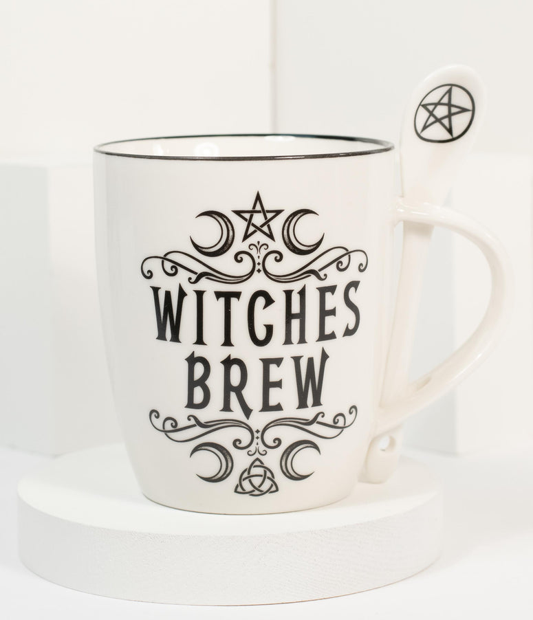 Witches Brew Mug & Spoon Set