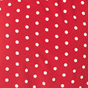 Vintage Style Red & White Polka Dot Midi Dress