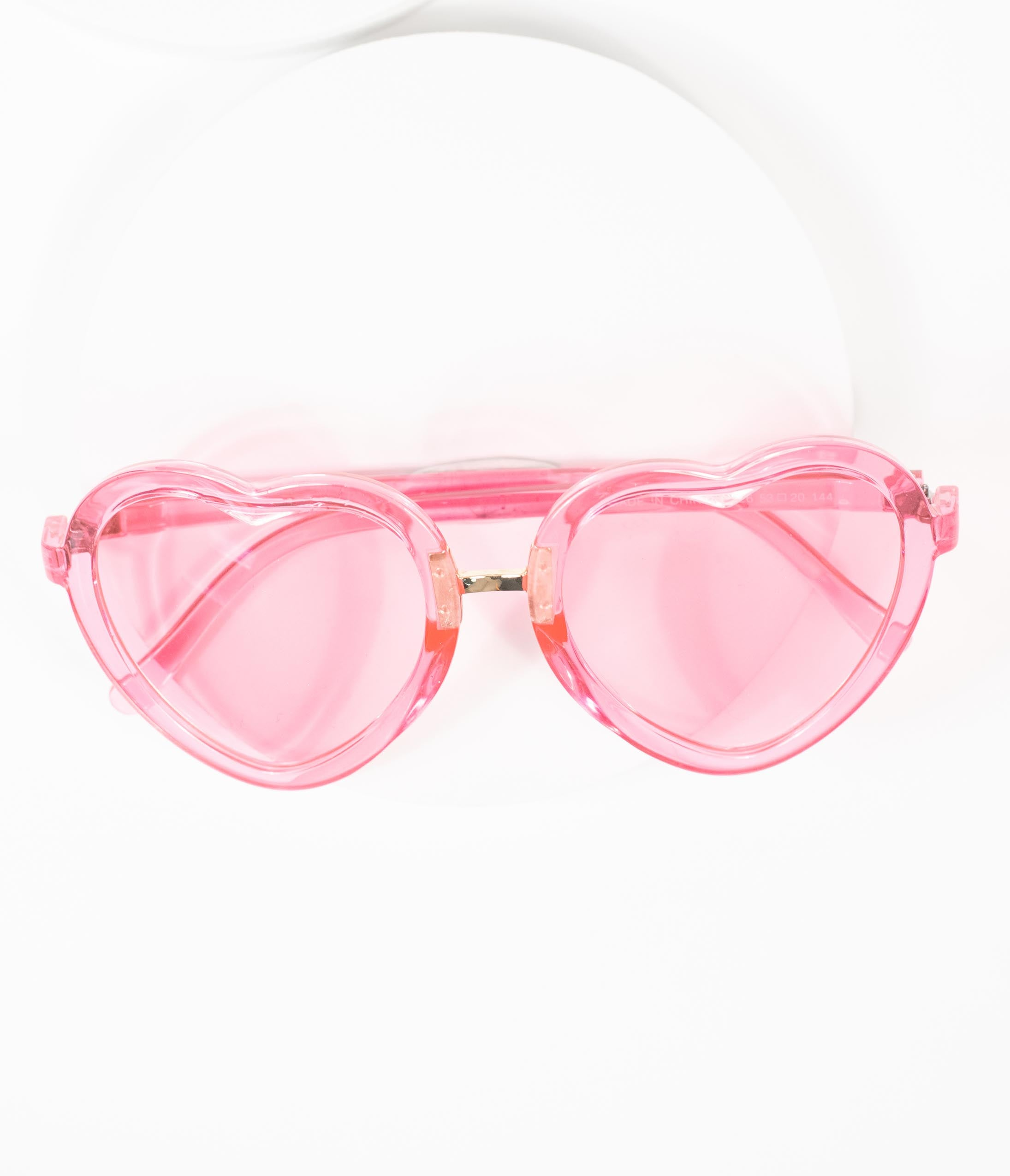 1950s Sunglasses & 50s Glasses | Retro Cat Eye Sunglasses Hot Pink Love Machine Heart Sunglasses $24.00 AT vintagedancer.com