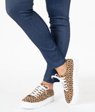 Cheetah Print Sneakers