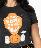 Unique Vintage Save Halloween Unisex Tee