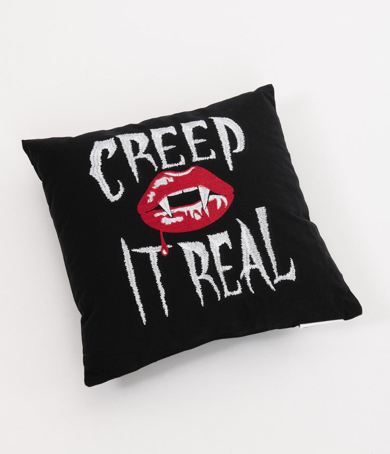 Creep It Real Vampire Pillow