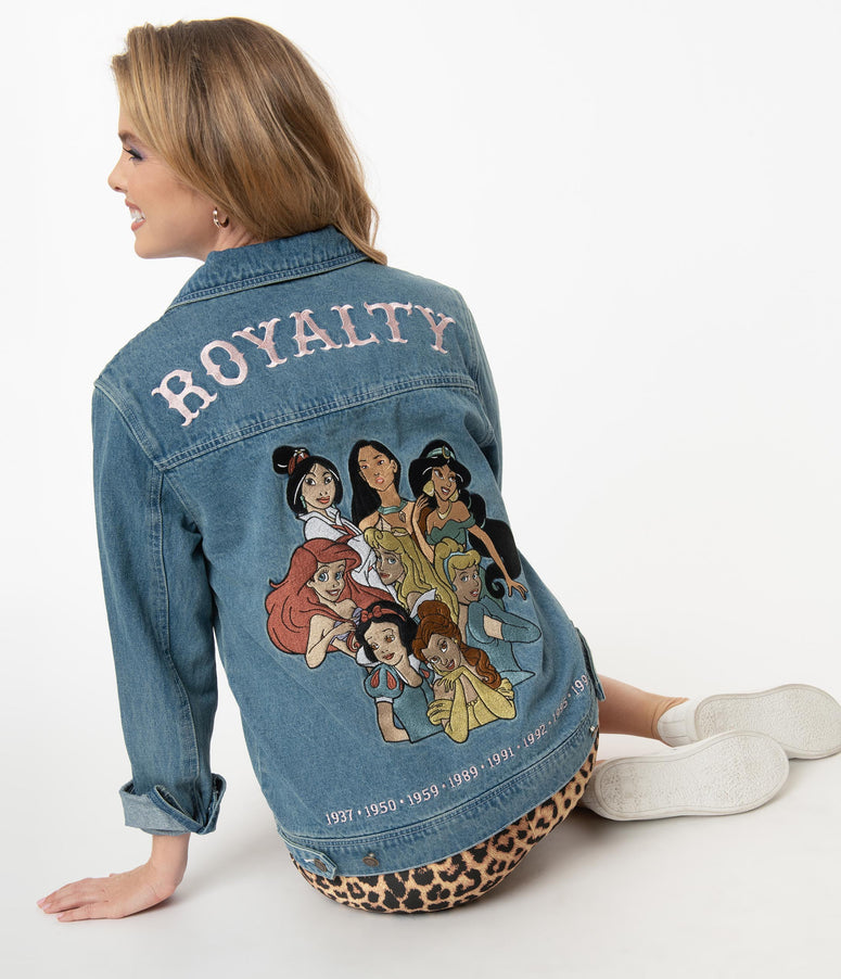 Cakeworthy Old School Denim Disney Royalty Jacket