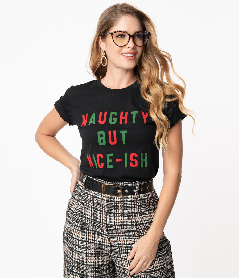 Naughty But Nice-Ish Unisex Tee