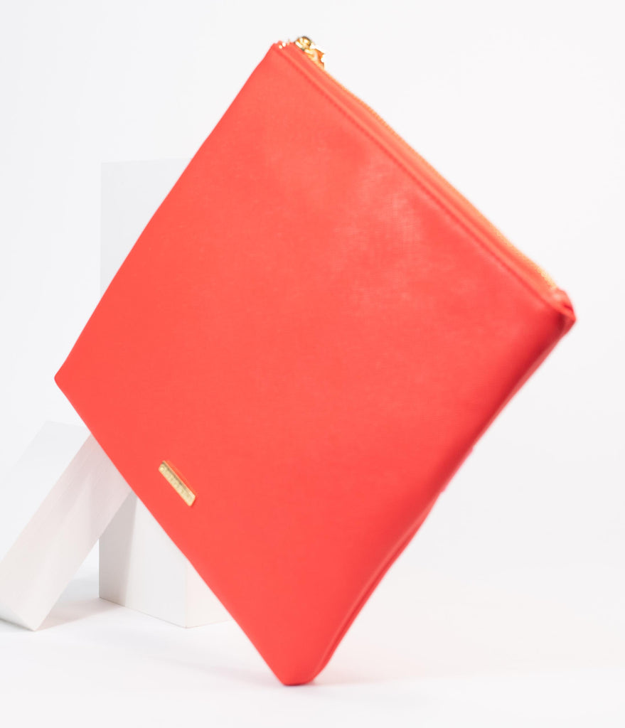 Red Holiday Present Clutch